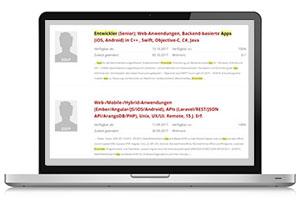 Freiberufler Freelancer Profile Screenshot GULP Direkt