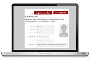 Projektanbieter, Projektausschreibungen GULP Direkt Screenshot